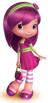 """""""Have a berry nice day!"""" Strawberry Shortcake is the main protagonist of Berry Bitty Adventures."""