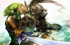 Link & Dark Link - The Legend of Zelda: Ocarina of Time