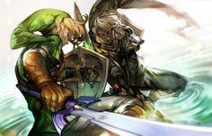 Link & Dark Link - The Legend of Zelda: Ocarina of Time