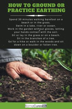 The Health Benefits of Earthing, Grounding and Walking Barefoot Imagine yourself, sitting barefoot, either on the beach or in a lush grassy park. Natural Home Remedies, Herbal Remedies, Health Remedies, Health Benefits, Health Tips, Health Care, Lush, Lotion, Different Types Of Arthritis