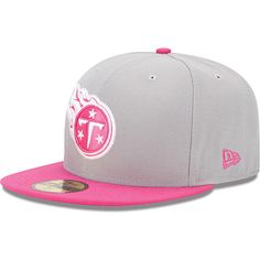 Men s New Era Tennessee Titans Breast Cancer Awareness On Field 59FIFTY®  Structured Fitted Hat All c8d515a77aef