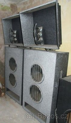 my new loudspeakers....Tesla akr 303, cinema loudspeakers ! Vintage,Alnico, 1968