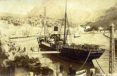 1925, Fotos Antiguas de Mallorca: El Pto. de Sóller