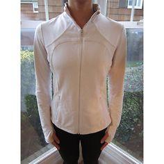 Lululemon Gingham Forme Jacket Lululemon Size 10 Gingham Forme Jacket Bright White/Dune Gingham. Excellent used condition! No flaws! lululemon athletica Jackets & Coats