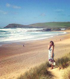 SS16 beach bound x Copacabana Beach photo print Maxi Dress