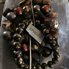 Beaded bracelet Large beaded bracelet new with tags Chico's Jewelry Bracelets