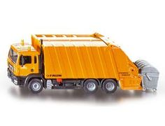 The 1/55 Refuse Lorry from the Siku Super Series - Discounts on all Siku Diecast Models at Wonderland Models.    One of our favourite models in the Siku Super Series Road Transport range is the Siku Refuse Lorry.    Siku manufacture wonderful, amazingly accurate and detailed diecast models of all sorts of vehicles, particularly road vehicles including this Refuse Lorry which can be complemented by any of the items in the Super Series range.