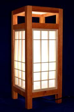 wooden lamp, kumiko, shoji, japan culture, handmade