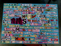 Letterkunst: Woorden die te maken hebben met school