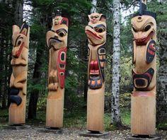Cathedral Grove | Big Trees & Totem Poles | Skeena River Totem Poles
