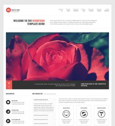 This portfolio Drupal theme has a responsive layout, a filterable portfolio, Flex Slider, a Twitter Bootstrap based design, a dropdown menu, a clean look, and more.