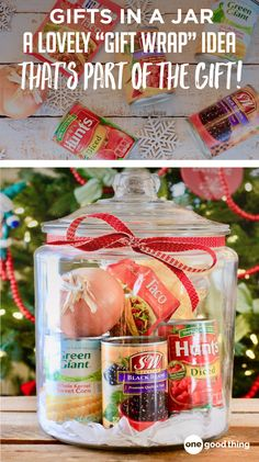 """Gift baskets have been done to death, so give a gift in a jar this year! Check out these 10 creative ideas for heartfelt holiday gifts packed up in a jar. gifts for men 10 Unique Gift Ideas For An Amazing """"Gift In A Jar"""" Christmas Gifts For Him, Christmas Gift Baskets, Homemade Christmas Gifts, Christmas Gift Guide, Homemade Gifts, Holiday Gifts, Christmas Ideas, Christmas Eve, Christmas Crafts"""