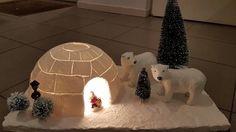 Eine Mini-Winterlandschaft sieht toll im Haus aus….Schau dir hier 11 sehr schöne, dekorative Ideen an - DIY Bastelideen