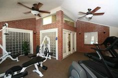 Fitness room at The Somerset Apartments in Lewisville, TX Workout Rooms, Somerset, Apartments, Floor Plans, Photo And Video, Luxury, Bed, Fitness, Furniture