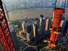 Crane Operator Takes Breathtaking Photographs of Shanghai From 2,000 Toes Excessive | Bored Daddy