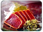 Tuna tataki, uma especialidade deliciosa do Yama