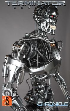 Chronicle Collectibles is excited to release the Terminator Genisys full size Endoskeleton, a unique T-800 design from Legacy Effects. This 1:1 Endoskeleton is molded from the original 3D prints and assembled right here in Dallas, Texas, USA.