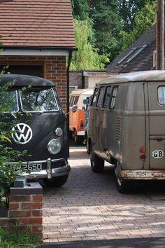 Awesome, looks like a three-van family.