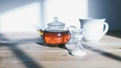 slow living : taking time for tea