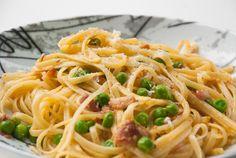 Spaghetti carbonara - chezENGH Spaghetti, Ethnic Recipes, Food, Meals, Noodle