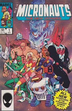 Micronauts The New Voyages #1 (Marvel Comics)