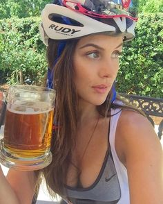 Beer and Helmet, what a great pair... #heavyglare https://shop.heavyglare.com/activities/cycling-sunglasses/