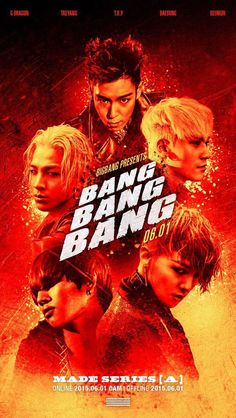 Big Bang announce the second part of their monthly comeback project, 'Bang Bang Bang'!   http://www.allkpop.com/article/2015/05/big-bang-announce-the-second-part-of-their-monthly-comeback-project-bang-bang-bang