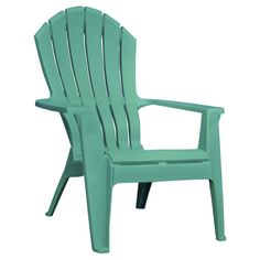 Resin Adirondack Chair - Turquoise