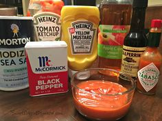 Today I have a great tried & true recipe for homemade steak sauce! This sauce is super simple to make, darn good, quickly whipped up with ingredients you probably have on hand in your kitchen. A1 Steak Sauce, Steak Sauce Recipes, Homemade Steak Sauces, Homemade Spices, Copycat Recipes, My Recipes, Healthy Snacks, Appetizers, Party Dips