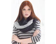 Color Block Cowl (Crochet)