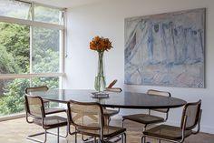 Open house | Alfredo Finotti. Veja: http://www.casadevalentina.com.br/blog/detalhes/open-house--alfredo-finotti--3139 #decor #decoracao #interior #design #casa #home #house #idea #ideia #detalhes #details #openhouse #style #estilo #casadevalentina #diningroom #saladejantar