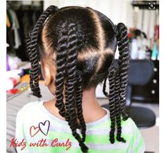 Protective Hairstyles 784541197561172026 - 8 Simple Protective Styles For Little Girls Headed Back To School [Gallery] – Black Hair Information Source by doucelinedesiles Childrens Hairstyles, Lil Girl Hairstyles, Black Kids Hairstyles, Natural Hairstyles For Kids, Kids Braided Hairstyles, Protective Hairstyles, Teenage Hairstyles, Curly Haircuts, School Hairstyles