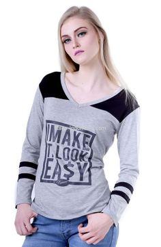Kaos wanita H 0016 adalah kaos wanita yang nyaman untuk dipakai...