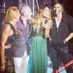 Arrancando #PremiosJuventud About to kick off #PremiosJuventud @Pitbull