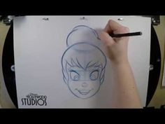 Learn to Draw Tinker Bell at Disney's Hollywood Studios « Disney Parks Blog