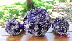 #bright #purple #broochbouquets to #brighten your #day! I hope you all have a #wonderful day xx  #alternativebouquet #stunning #brooches #sparkles #alternative #wedding #bride #instaweddings #handmade #love #weddingparty #celebration  #bridesmaids #happiness #unforgettable #forever #ceremony #romance #marriage #weddingday #broochbouquet #fashion #flowers #australia  www.nicsbuttonbuds.com.au www.facebook.com/nicsbuttonbuds www.pinterest.com/nicsbuttonbuds www.instagram.com/nicsbuttonbuds…