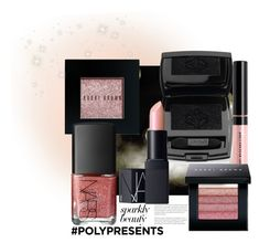 """""""#PolyPresents: Sparkly Beauty"""" by marionmeyer ❤ liked on Polyvore featuring beauty, Lancôme, Bobbi Brown Cosmetics, NARS Cosmetics, contestentry and polyPresents"""