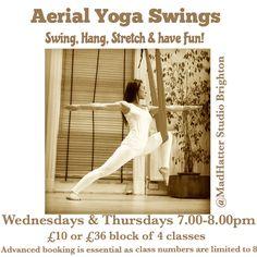Aerial yoga swings Brighton