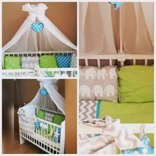 Amilian Baby Bettwasche 5tlg Bettset Mit Nestchen Kinderbettwasche