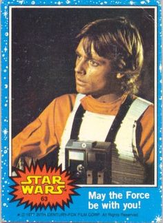 f6e9932f111 063 - May the Force be with you! Star Wars Luke SkywalkerMark ...
