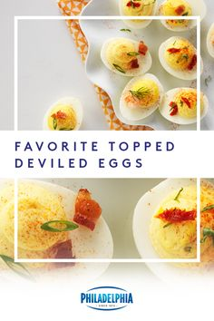 This Easter, spice things up at your get-together with this devilishly delicious recipe for our Favorite Topped Deviled Eggs. Easter Recipes, Egg Recipes, Appetizer Recipes, Low Carb Recipes, Holiday Recipes, Appetizers, Cooking Recipes, Sunday Recipes, Holiday Ideas