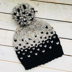 Sleet Knitting pattern by Allison O'Mahony