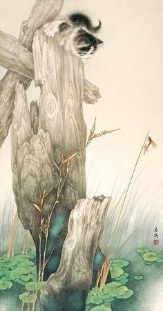 Fine Art Gallery & Mi Chunmao was born in Baxian, Hebei Province, in 1938