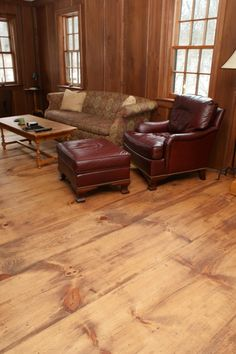Pine wide plank flooring mill-direct and USA made. Custom plank sizes, unfinished or prefinished. Pine Wood Flooring, Old Wood Floors, Rustic Wood Floors, Painted Wood Floors, Cleaning Wood Floors, Wood Laminate Flooring, Pine Floors, Diy Flooring, Wood Planks