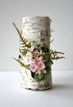 Studio Sisu Original Betula Rosa Art Sculpture by StudioSisu