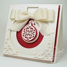 love to create: Spellbinders 12 Days of Christmas - 2013 Heirloom Ornaments, Heirloom Reflections, Standard Circles, Classic Squares & Corner Flourish Die Sets