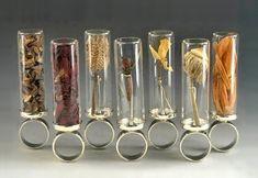 "Anika Smulovitz ""Herbarium Specimen"" ring series. my favorite is the dandelion ring."