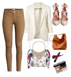 """""""pretty"""" by andy-ag on Polyvore featuring H&M, Valentino, Bebe and Bobbi Brown Cosmetics"""