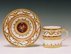 SEVRES 1787 Painter: J.J.Boucot Guilder: P.J.B.Vande