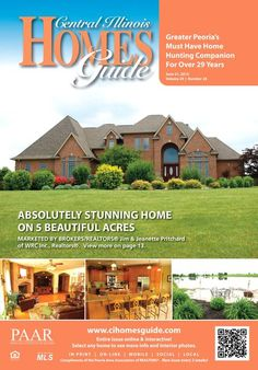 """Paar marketing center on twitter: """"central illinois homes guide."""